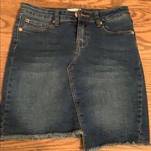 Never worn Hudson jean skirt